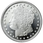 1 oz Morgan Silver Round