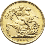 British Sovereign gold bullion coins