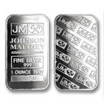 Johnson Matthey Silver Bar